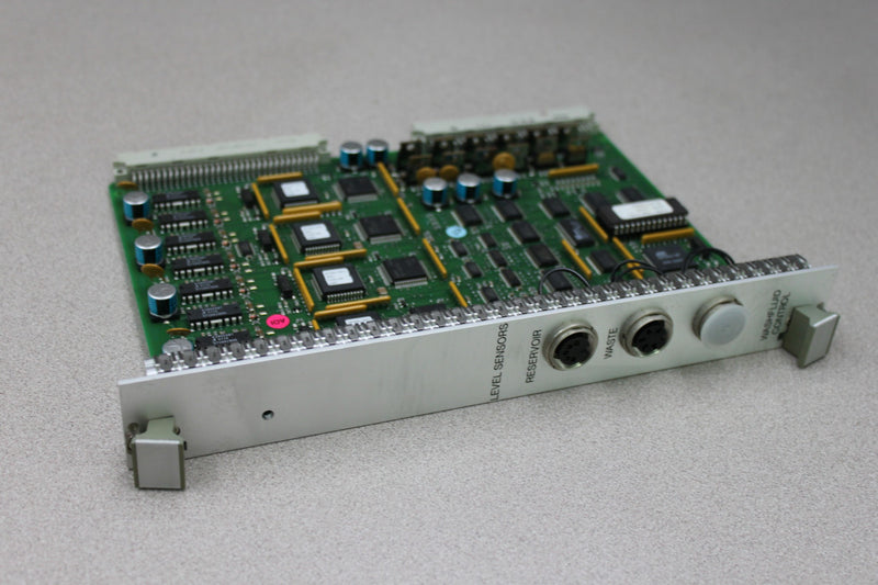 Used: Roche ECR 9402017 PCB Washfluid Control Module from ROCHE Cobas Amplicor