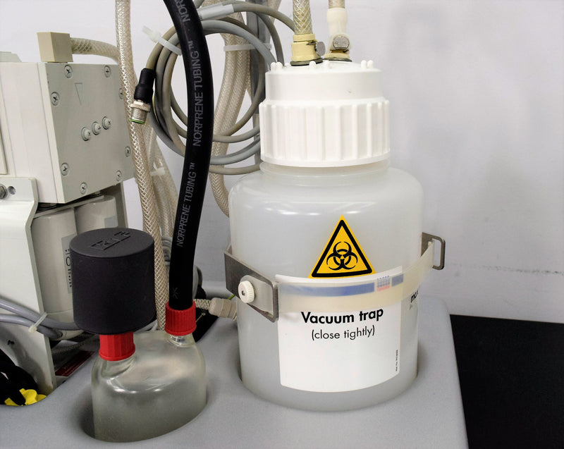 Used: QIAGEN BioRobot 8000 2004 KNF Neuberger PJ15288-834.3 Vacuum Pump Trap Bottle