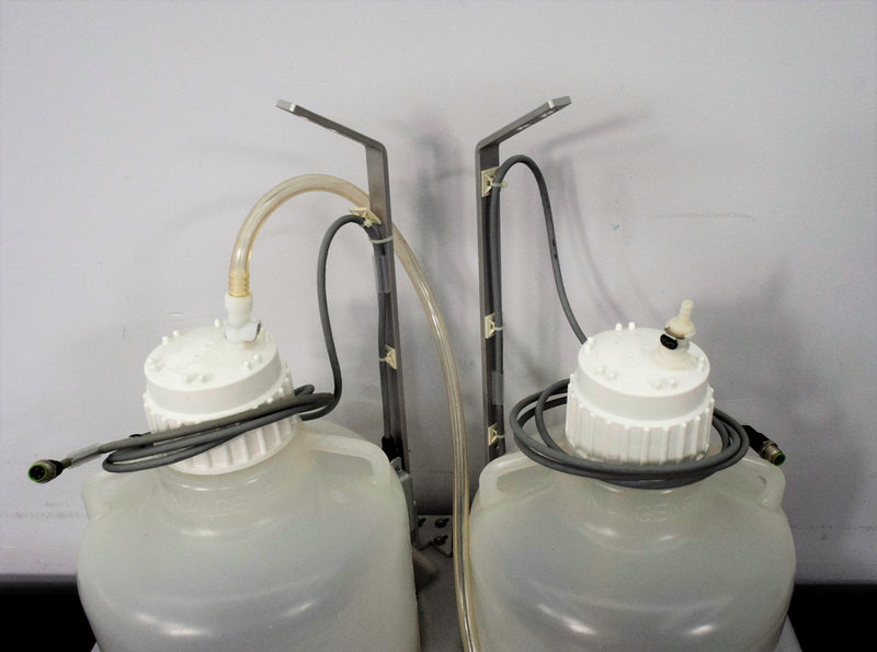 Used: QIAGEN BioRobot 8000 (2) Reagent 10L Bottles with 83B Caps and Tubing Warranty
