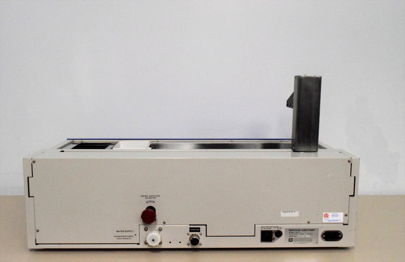 Used: Sakura RSG-61 Hematology Slide Stainer with 90-Day Warranty