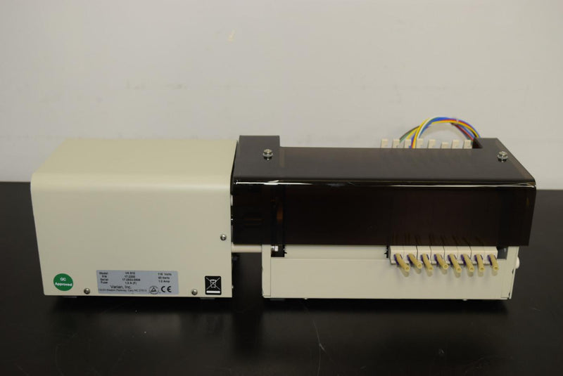 Used: Varian VK 810 Bi-Directional Peristaltic Pump 8-Channel PN 17-2200 With Warranty