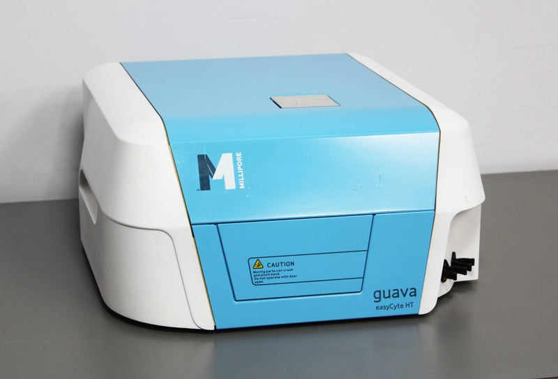 For Parts or Repair: 2010 Millipore Guava EasyCyte HT Flow Cytometer High-Throughput Cell Count
