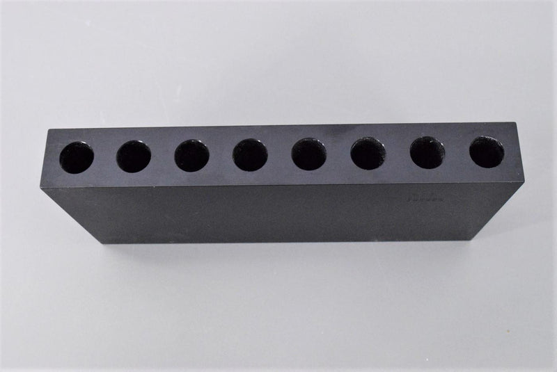 Used: Beckman Coulter 342488 Dry Bath Heating Block for 5/8 x 3 8-Slot Tubes Warranty