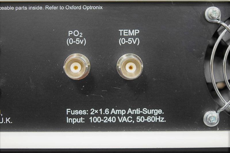 Used: Oxford Optronics OxyLab pO2 Tissue Oxygenation Monitor with Warranty