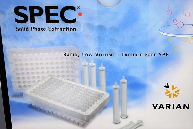 New: Varian C18-A SPEC-IQe w/ Filters 3mL Volume (2) 100pc  Bags A5325020 Warranty