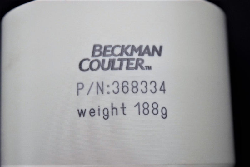 Used: Beckman Coulter 368334 Swing Bucket Adapter 12x10mL Conical Tubes Warranty