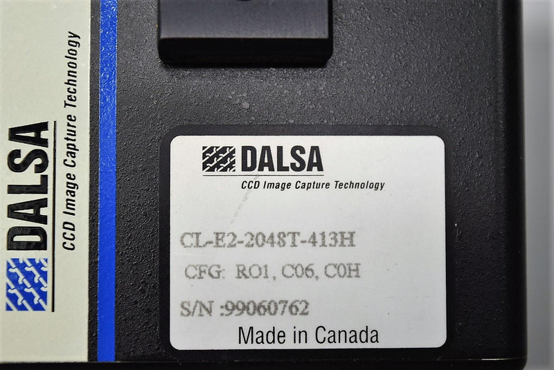 Used: Line Scanning Dalsa Digital CCD Vision Camera CL-E2-2048T-413H Warranty