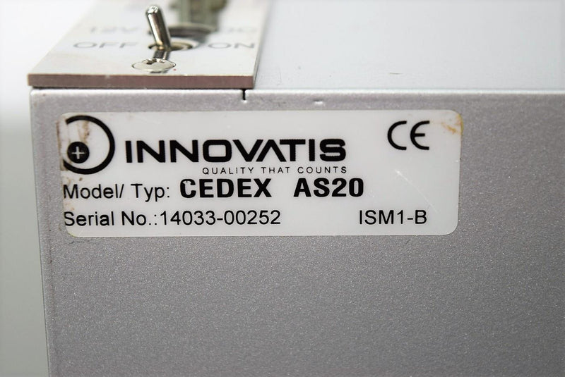 Cedex AS20 Autosampler for Innovatis Cedex Cell Culture Analyzer w/ Warranty
