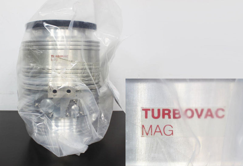 New: Oerlikon Leybold TurboVac MAG W 600 iP 410600V0525 Turbomolecular Pump iS Drive