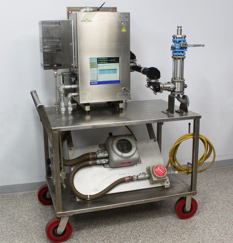 Used: Mettler Toledo MonARC Real-Time In-Situ Process Monitor Analysis Station