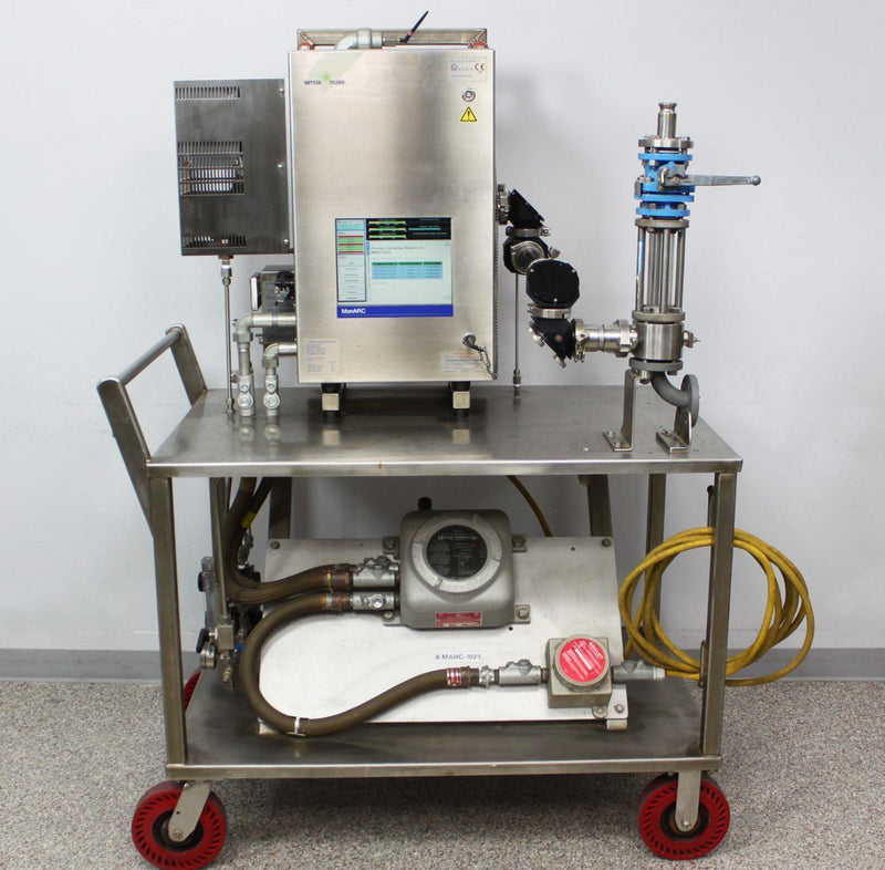 Mettler Toledo MonARC Real-Time In-Situ Process Monitor Analysis Station