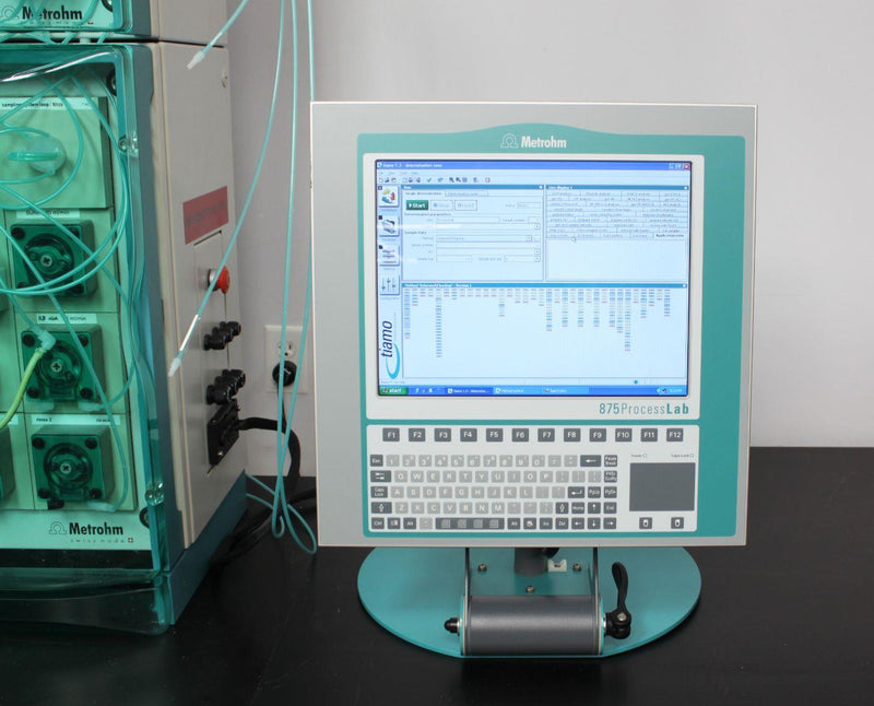 Used: Metrohm 875 ProcessLab At-Line Process Analyzer w/ 814 Autosampler & Display