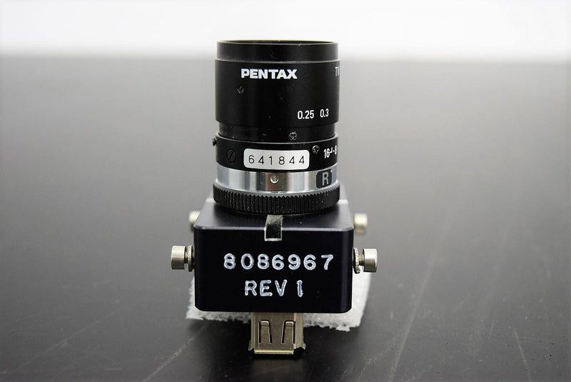 Used: Pentax C1614-M TV Lens 16mm w/ Sensor, BD Innova Microbiology Processor Warranty