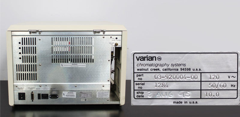 For Parts or Repair: Varian Saturn GC/MS 3 Mass Spectrometer for VOCs Gas Chromatography