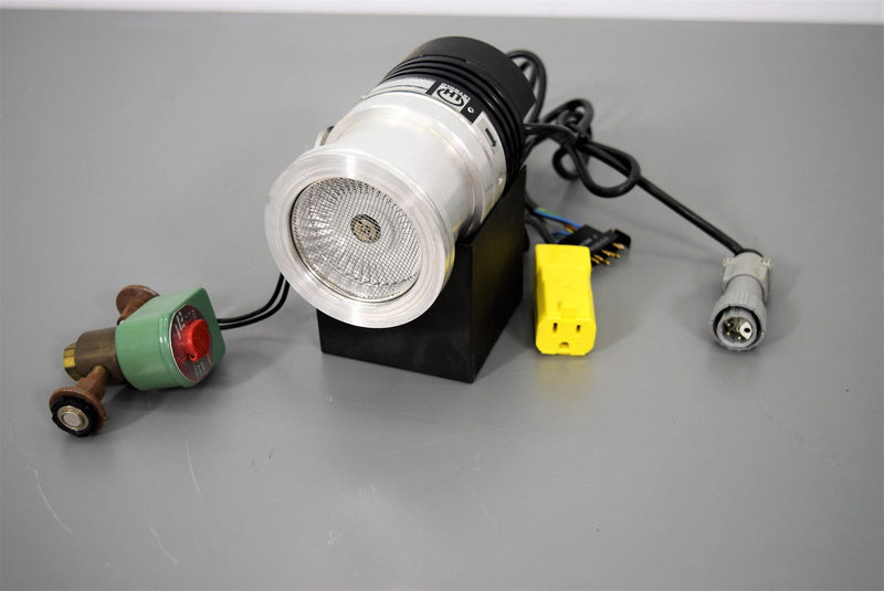 Used: Leybold 85401 TurboVac 50 Pump w/Solenoid Valve and Power Outlet w/ Warranty