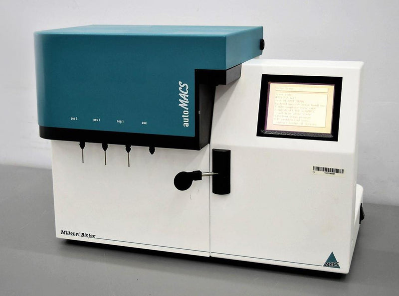 For Parts or Repair: Miltenyi Biotec autoMACS 003 Laboratory Magnetic Cell Separator - Parts