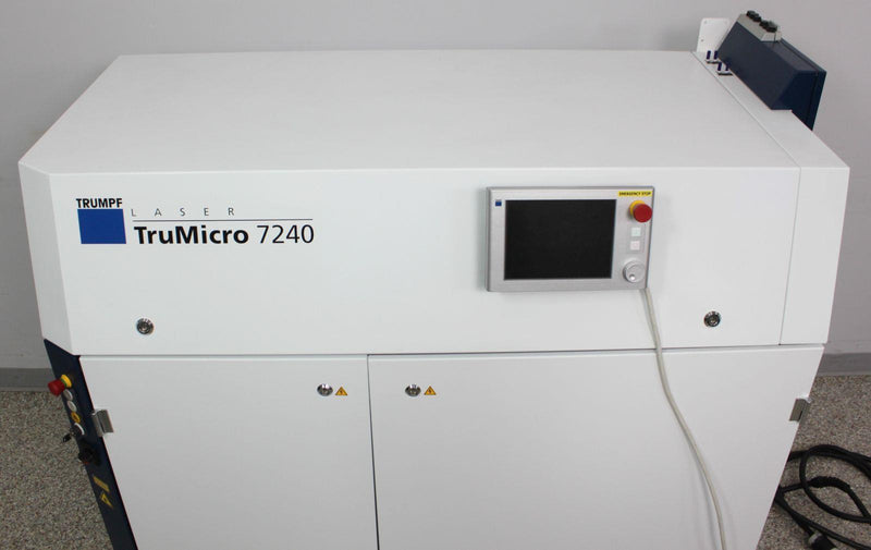 Used: Trumpf TruMicro 7240 Series 7000 Short-Pulse High-Performance Disk Laser System