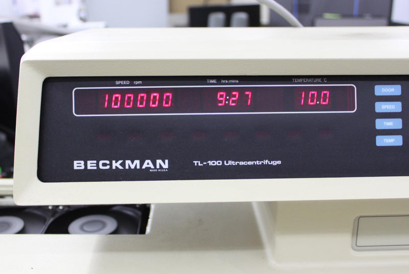 Used: Beckman 343842 TLA-100.2 Fixed Angle Ultracentrifuge Rotor 100,000 RPM 10x2.0mL