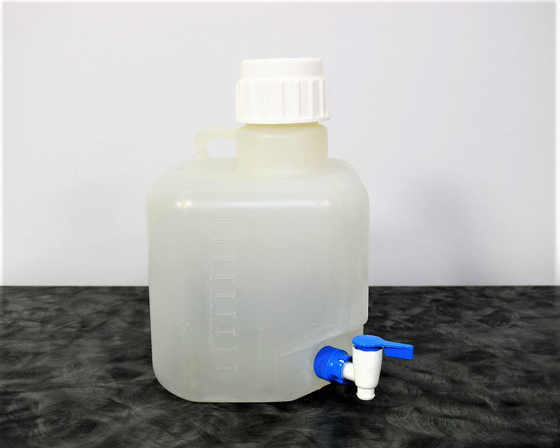 Used: Nalgene 62507 Wide Mouth 10 L Container with Handle and Valve w/ 90-Day Warranty