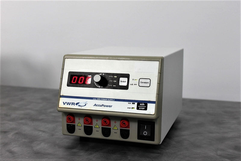 Lot of 2 VWR 300 AccuPower Electrophoresis Power Supply with 90-Day Warranty