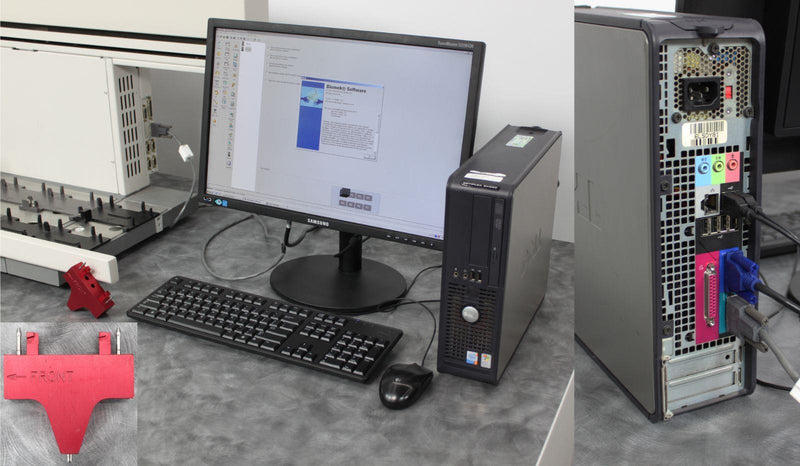 Used: Beckman Coulter Biomek 3000 Automated Liquid Handler 986120 w/ PC & Software