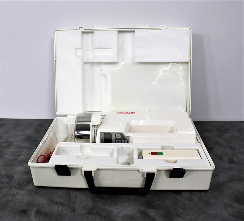 For Parts or Repair: Biotest Hycon Centrifugal Air Sampler RCS Plus and Carrying Case