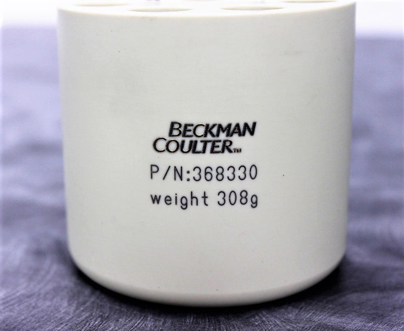 Beckman Coulter 368330 Swing Bucket Rotor Adapter 9 x 15mL with 90-Day Warranty