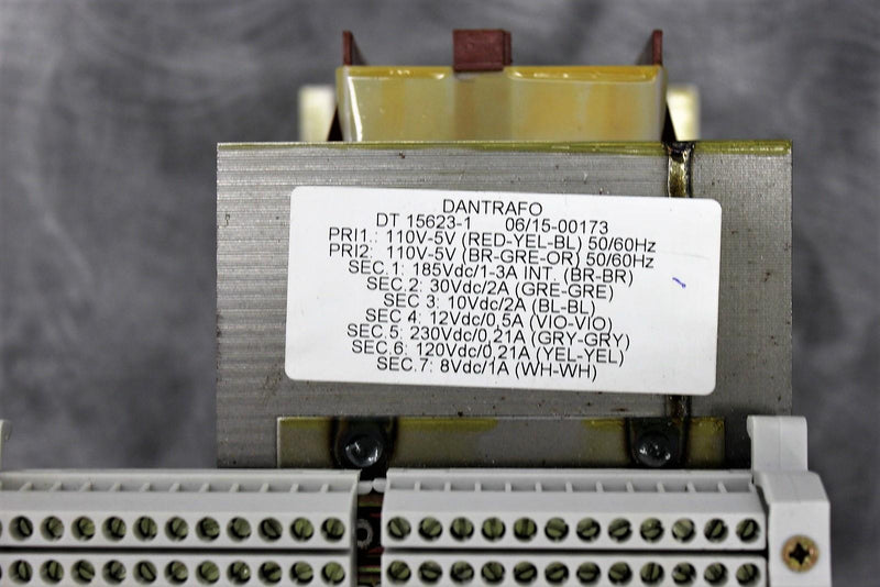Dantrafo DT15623-1 Transformer for DermaMed Quadra Q4 Platinum SERIES w/Warranty