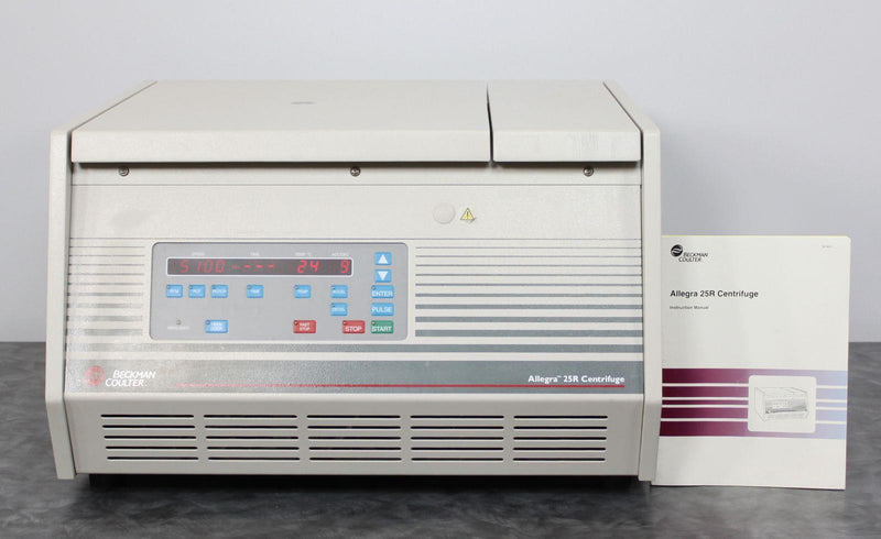 Used: Beckman Coulter Allegra 25R Refrigerated Benchtop Centrifuge 369434 w/ Warranty