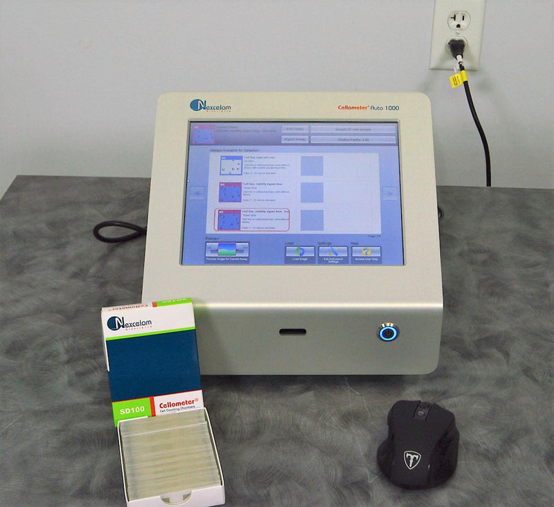 Used: Nexcelom Cellometer Auto 1000 Bright Field Cell Counter w/ SD100 Slides