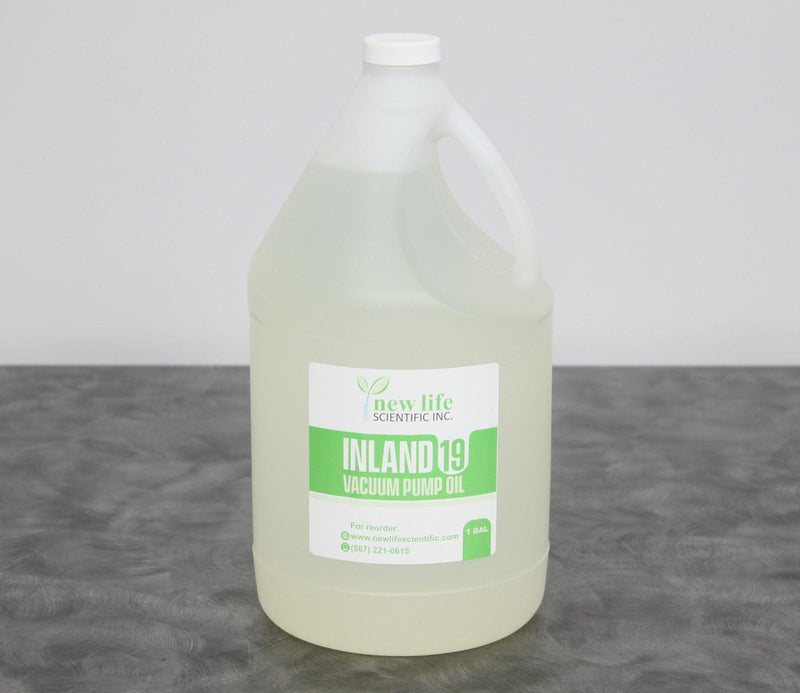New: Inland 19 Vacuum Pump Oil 128 oz./1 Gallon Edwards/ Welch/ Leybold/ Agilent