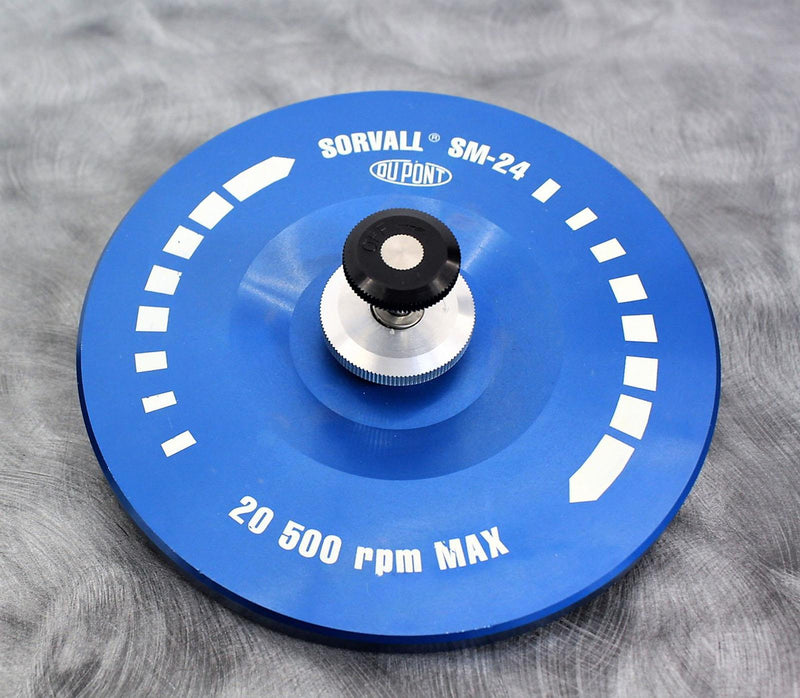 Used: Sorvall 29017 SM-24 Rotor 24x16mL 20,500 RPM Tested with Warranty