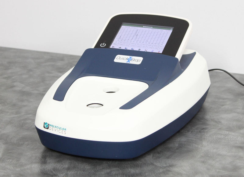 Used: Molecular Devices SpectraMax QuickDrop Micro Volume Spectrophotometer 5047178