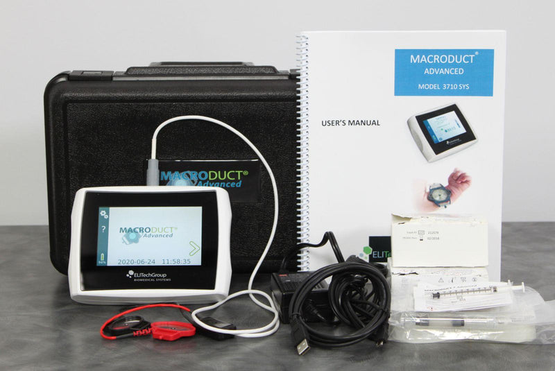 Used: ELITechGroup Macroduct Advanced Model 3710 SYS Sweat Collection System