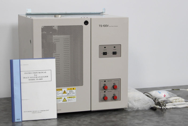 Used: Mitsubishi TS-100VR Trace Sulfur Analyzer Sample Heating Decomposition