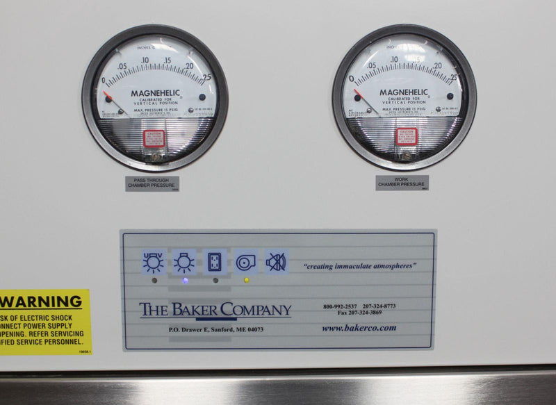 Used: Baker SS600 SterilSHIELD Positive Pressure Biological Safety Cabinet Glove box
