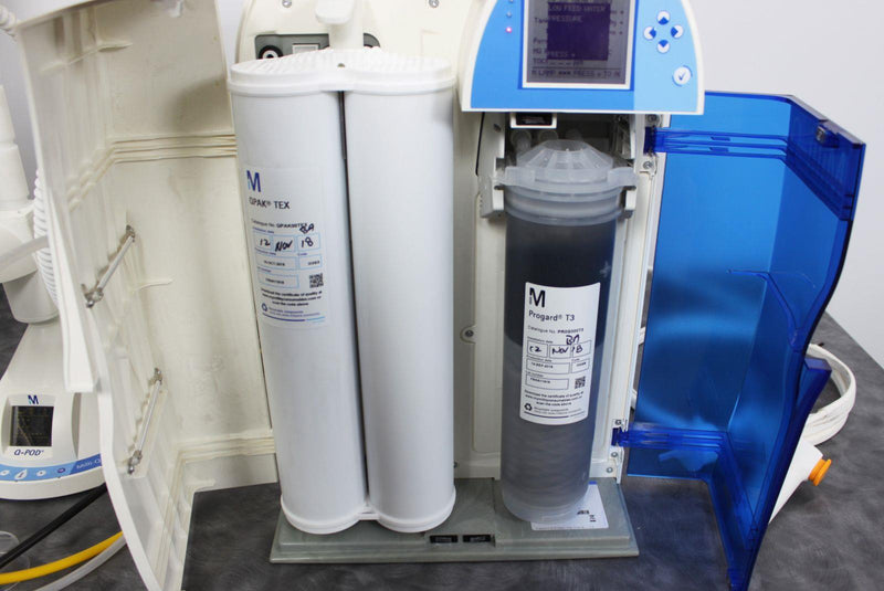 Used: Millipore Milli-Q Direct 16 Water Purification System Q-Pod Dispenser Ultrapure