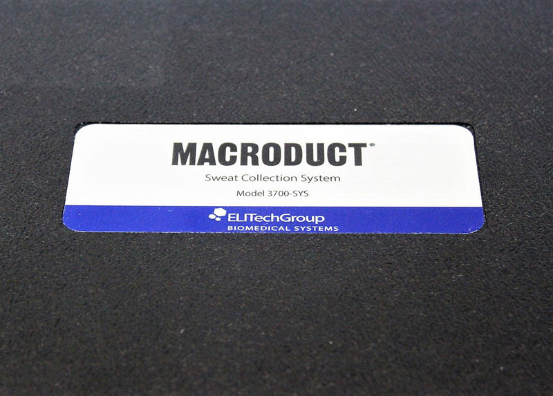 Used: Macroduct Wescor Model 3700 SYS Sweat Collection System with Electrodes
