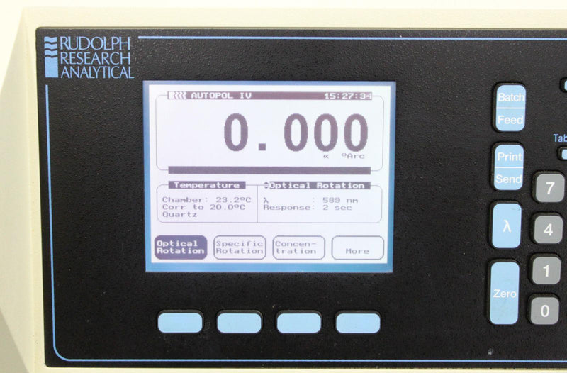 Used: Rudolph Research Autopol IV Automatic Polarimeter APIV-589 w/ 90-Day Warranty