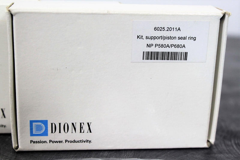 New/Opened: Dionex 6025.2011A (3) Support/Piston Seal Rings NP P580A/P680A w/90-Day Warranty