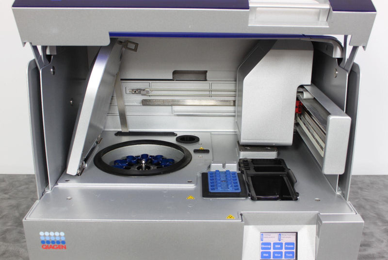 Used Qiagen Qiacube Automated Dna Rna Isolation Purification Spin Col