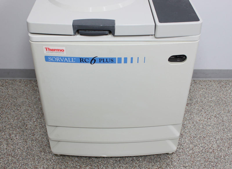 Thermo Fisher Sorvall RC-6 Plus Refrigerated Floor Centrifuge 46910 w/ Warranty