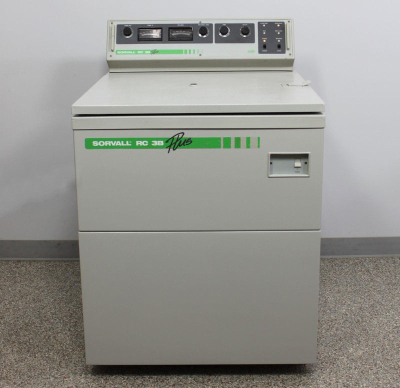 Used: Sorvall RC-3B Plus High-Capacity Refrigerated Floor Centrifuge w/ H2000B Rotor