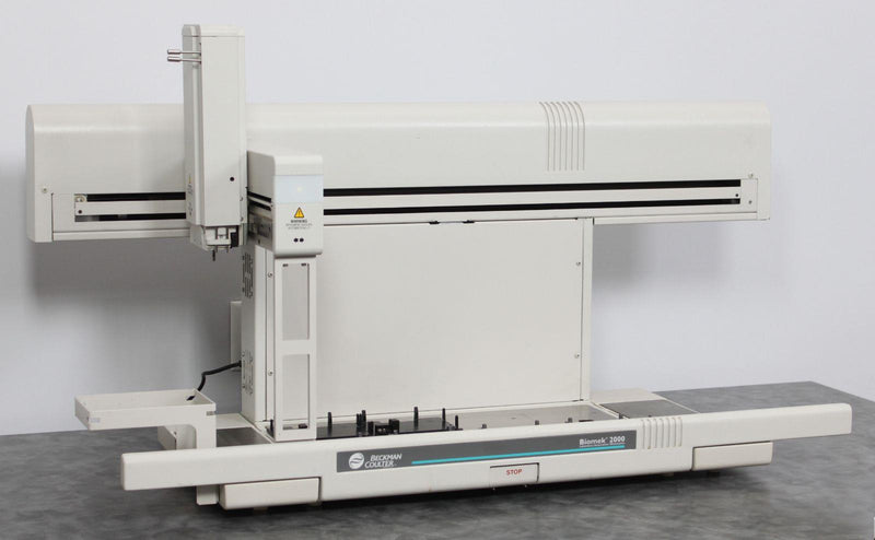 For Parts: Beckman Coulter Biomek 2000 Laboratory Robotic Liquid Handler Pipet Workstation