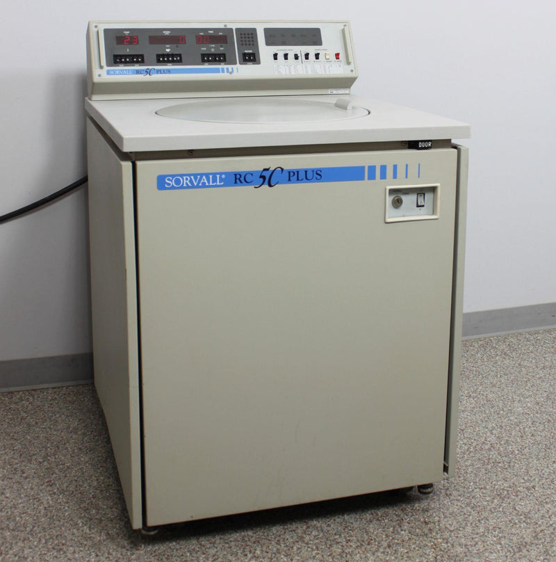 Used: Kendro Sorvall RC-5C Plus Superspeed Refrigerated Floor Centrifuge w/ Warranty