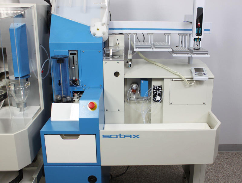 Used: SOTAX CTS Automated Pharmaceutical Tablet Content Uniformity Testing System