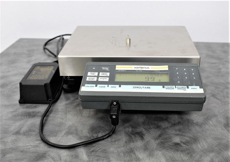 Used: Sartorius QC7DCE-SOUR Digital Inventory Counting Scale with 90-day Warranty