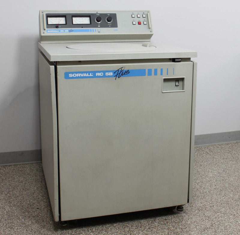 Used: Sorvall RC-5B Plus Refrigerated Superspeed Floor Centrifuge 21K RPM RC-5B+