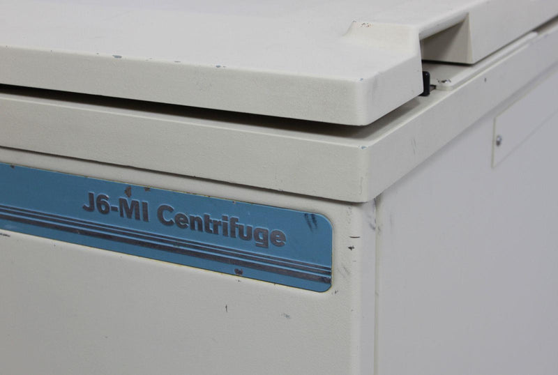 Used: Beckman Coulter J6-MI High Capacity 6L Refrigerated Floor Centrifuge 360291