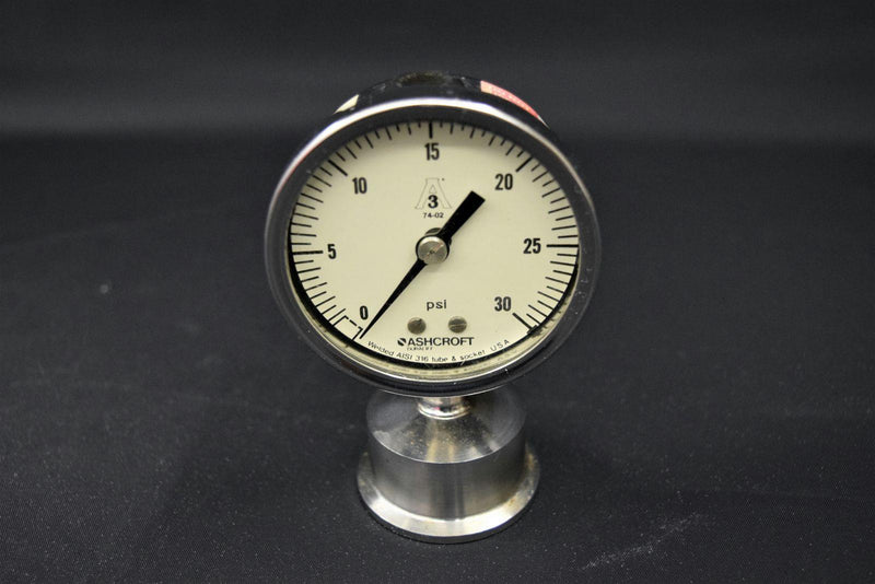 Ashcroft & McDaniel PSI Gauges and One 316 Tube & Socket Gauge (Lot of 4)